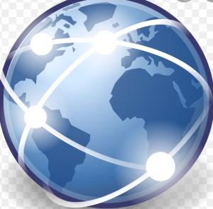 Pianeta terra in rete